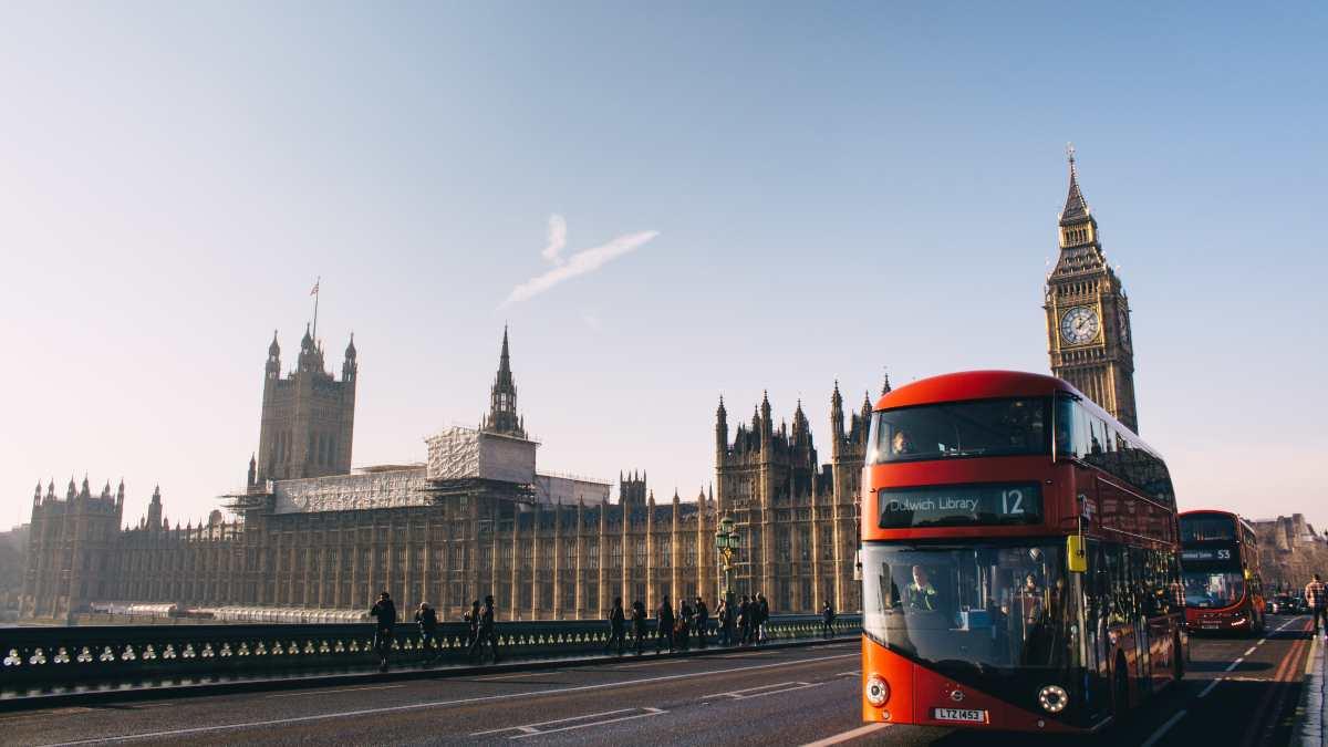 Αγγλία, λεωφορείο