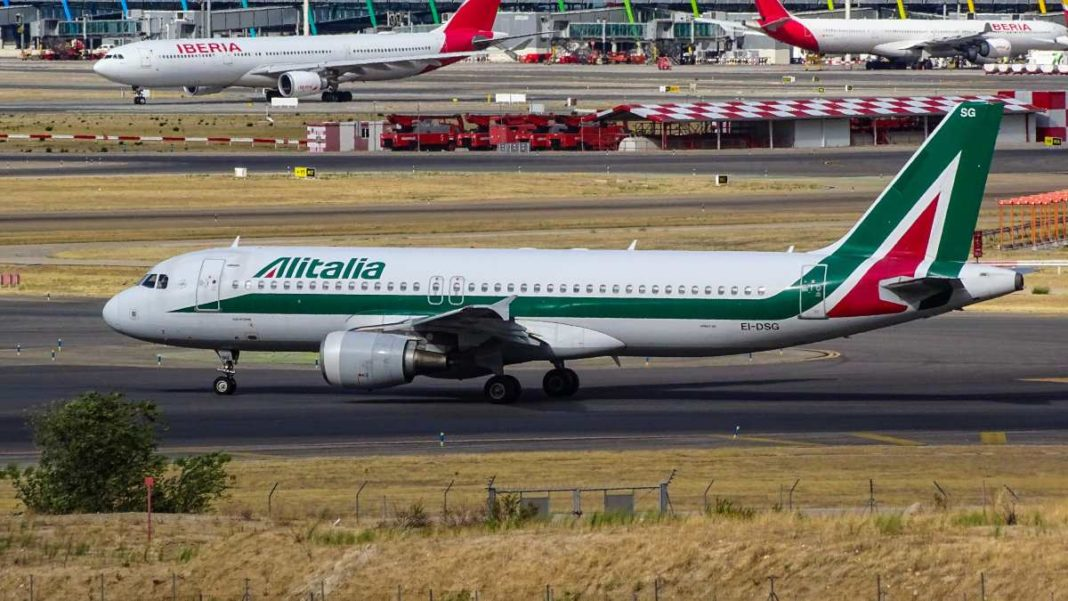 Αεροπλάνο Alitalia