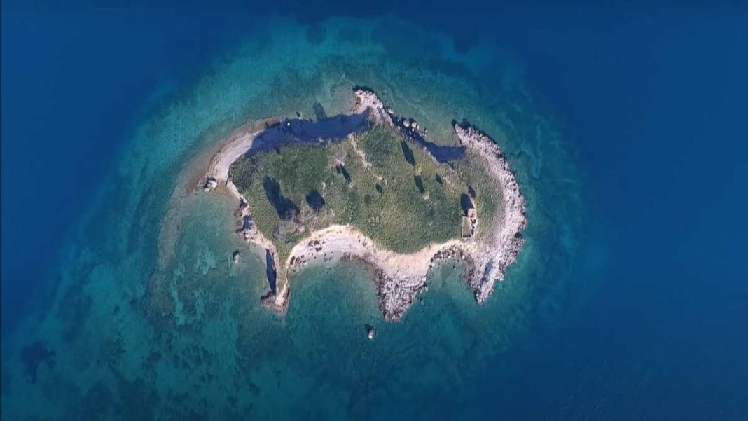 Νησίδα Αψηφιά, Φωκίδα