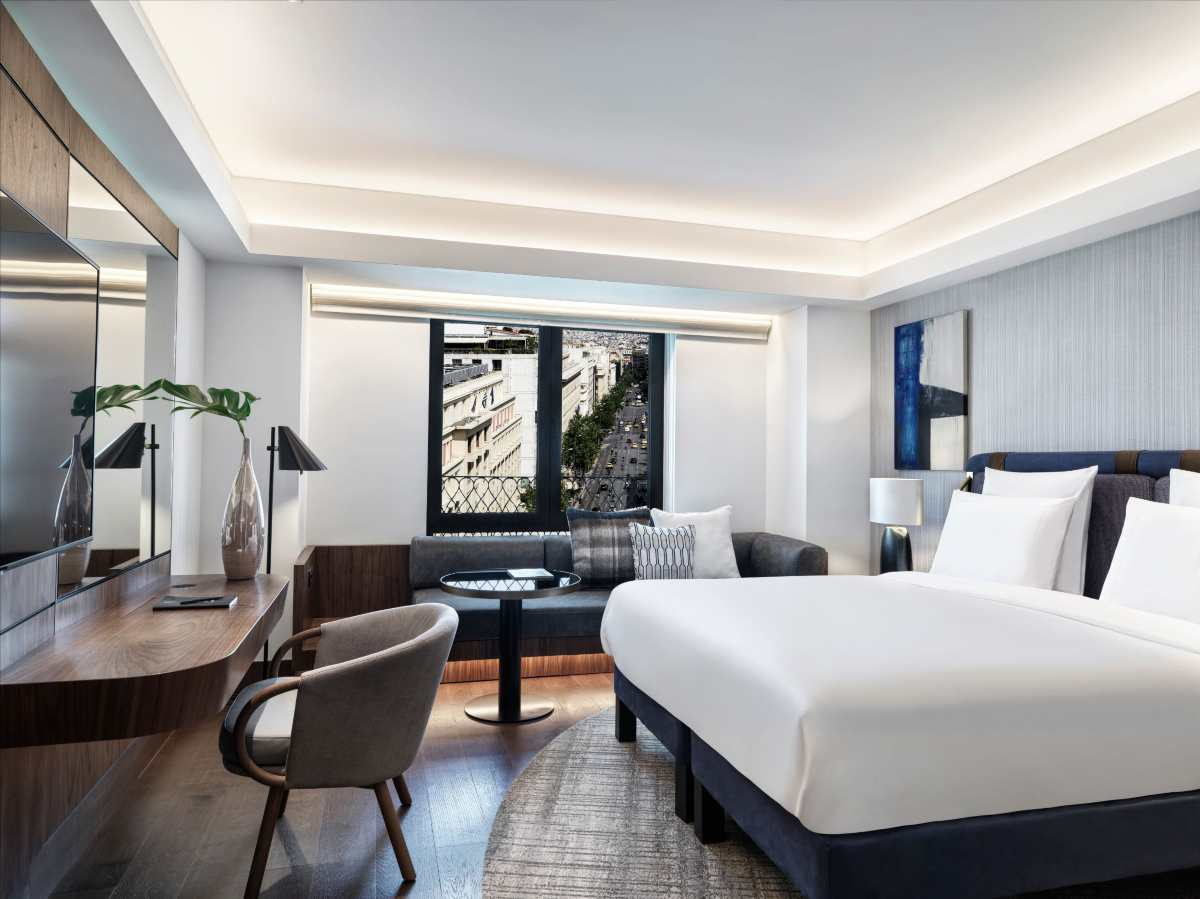 Athens Capital Hotel δωμάτιο