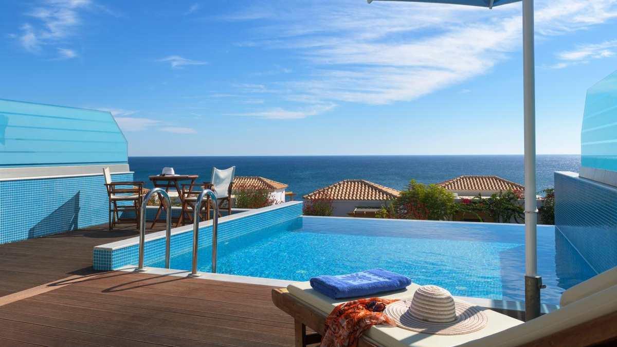 Atrium Prestige Thalasso Resort θέα