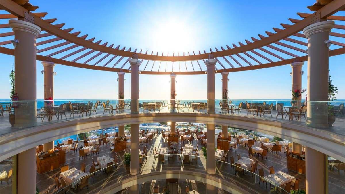Atrium Prestige Thalasso Resort εστιατόριο