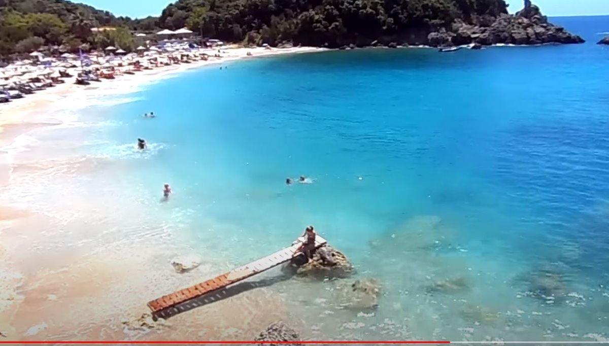 Παραλία Σαρακήνικο, Πάργα , μια από τις ομορφότερες παραλίες στην ηπειρωτική Ελλάδα