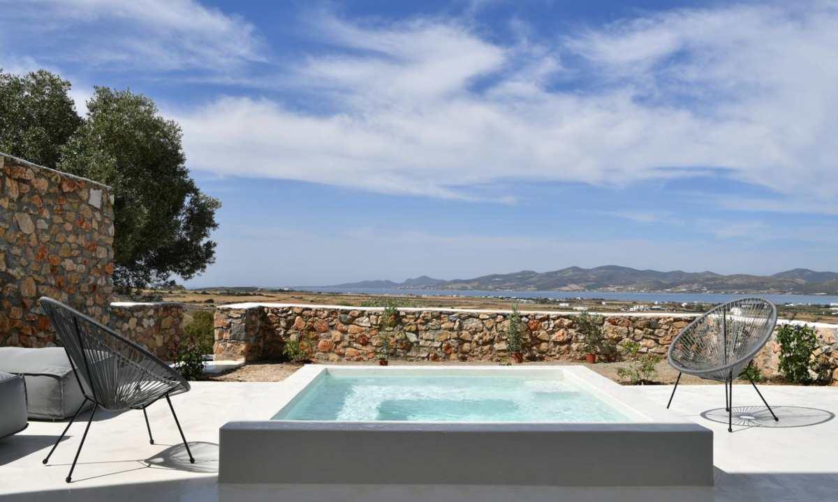 Ciel Villas Paros, εξωτερική πισίνα