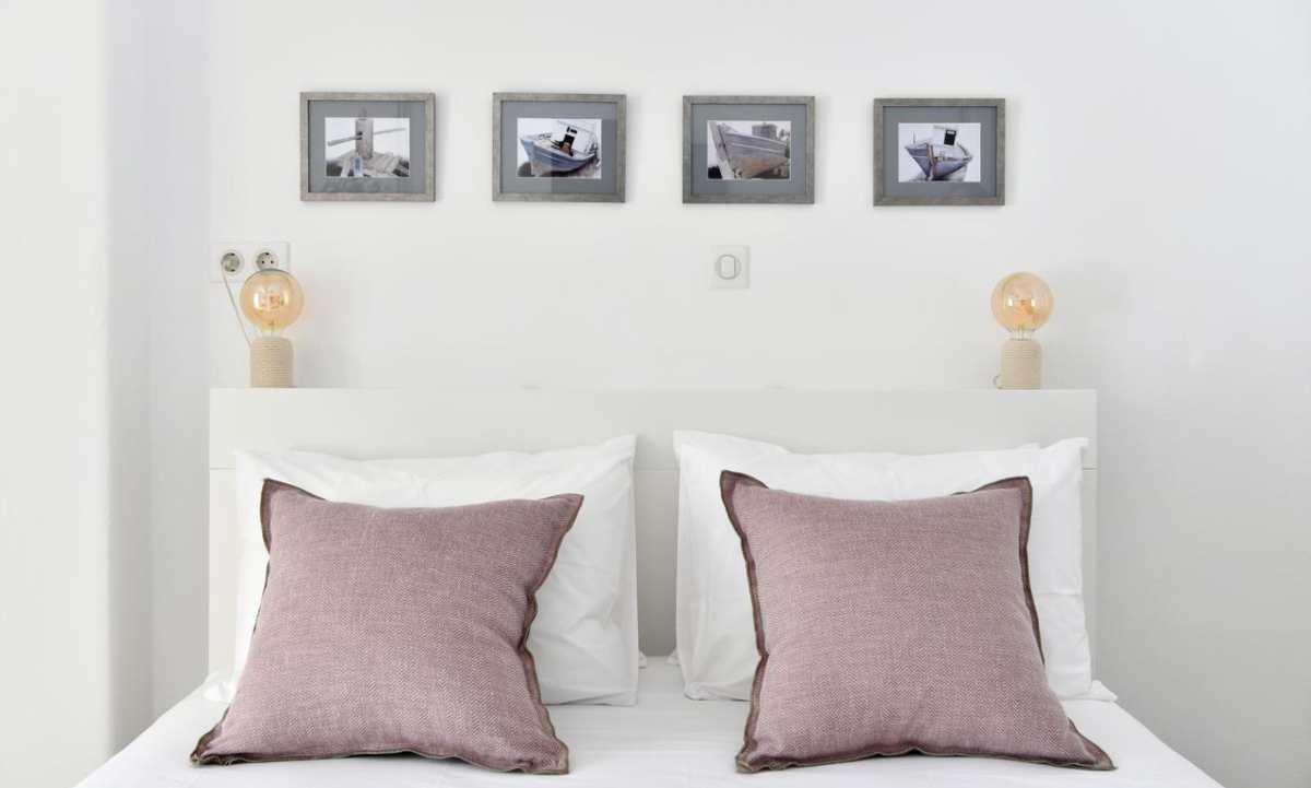 Ciel Villas Paros, κρεβάτι