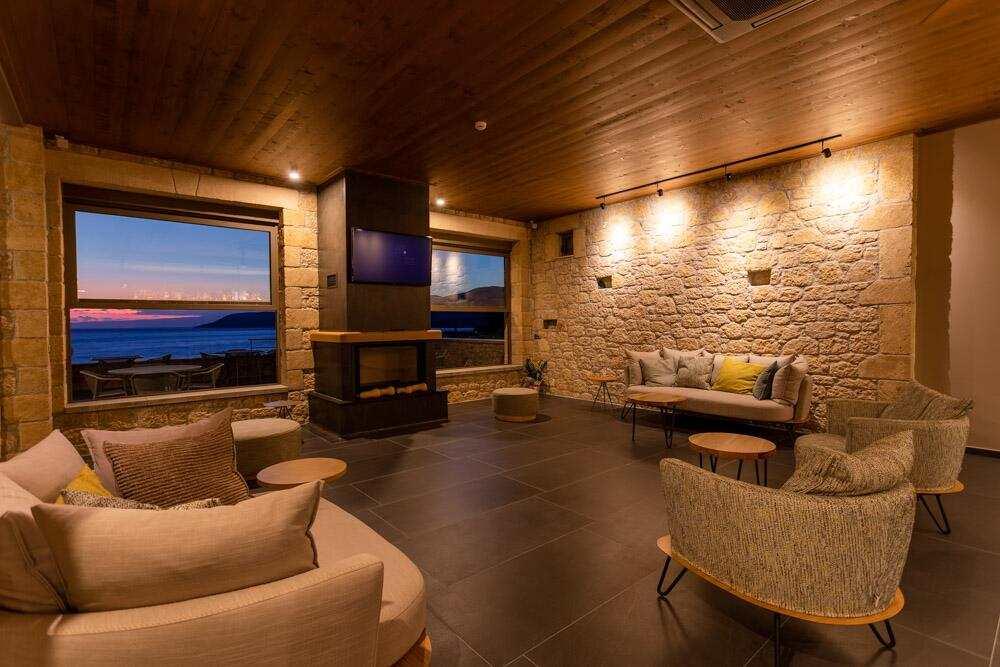 Diapori Suites Hotel σαλόνι
