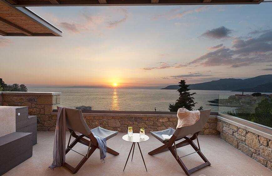 Diapori Suites Hotel θέα