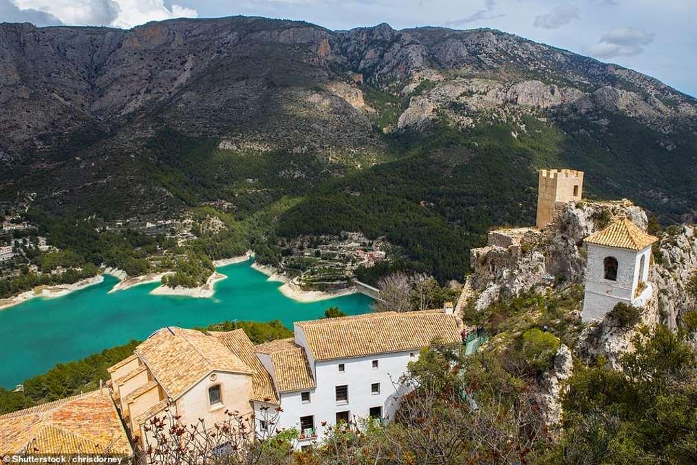 El castell de Guadalest, Ισπανία