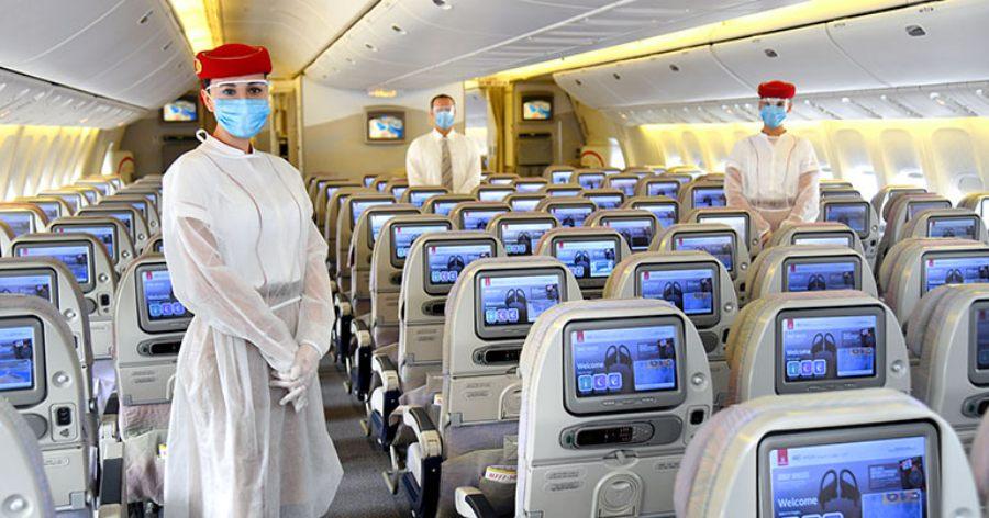 Μέτρα ασφαλείας στην καμπίνα του αεροσκάφους, Emirates