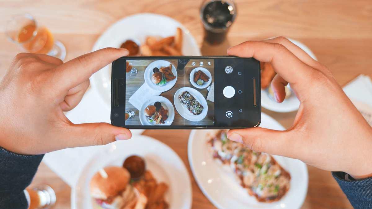 Φωτογράφιση φαγητού