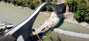 Τζουμέρκα: Όρθιο ξανά το Γεφύρι της Πλάκας (βίντεο)