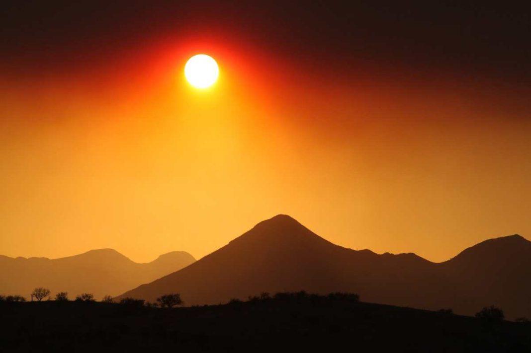 Ήλιος, βουνό