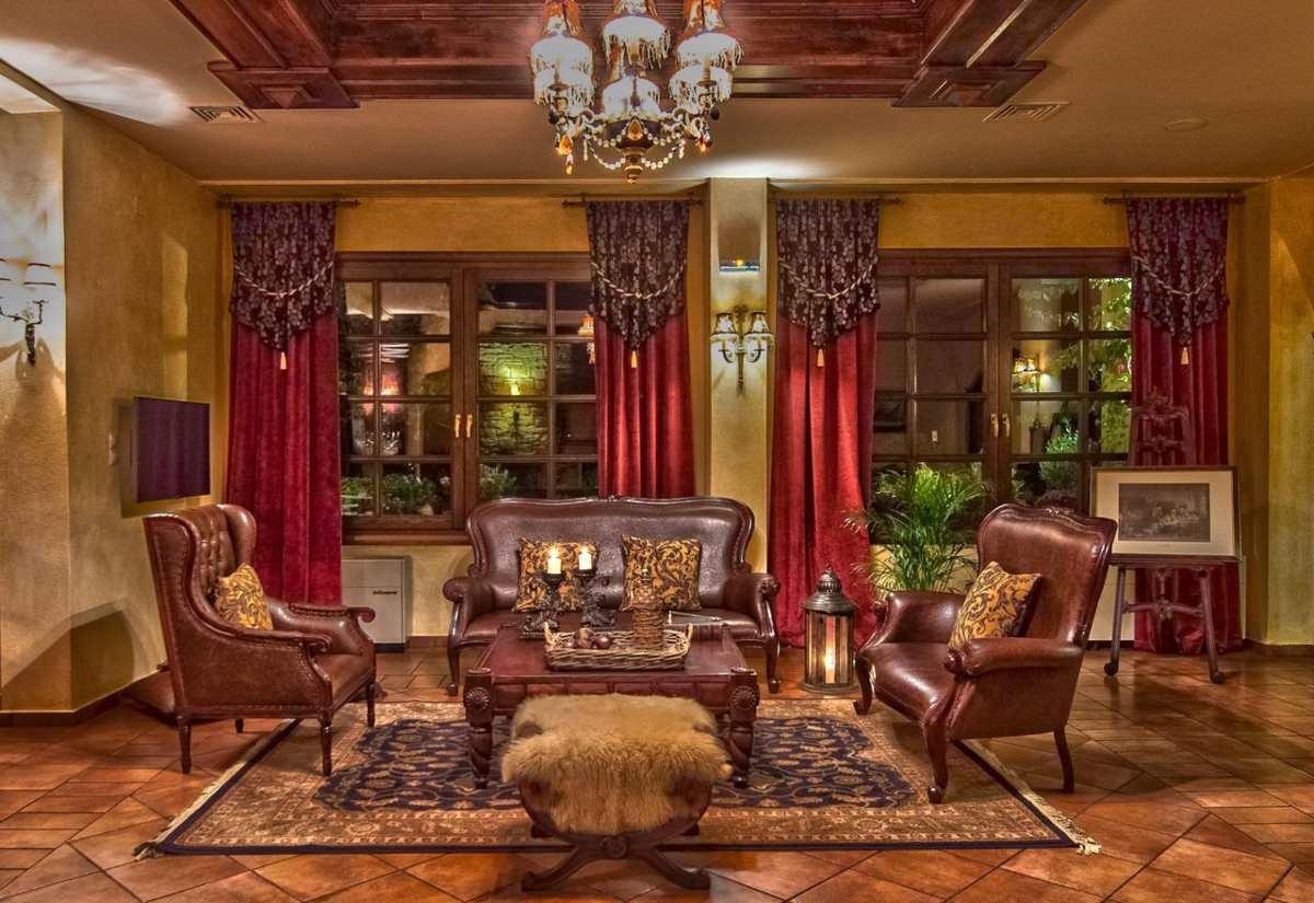 Hotel Doupiani House σαλόνι