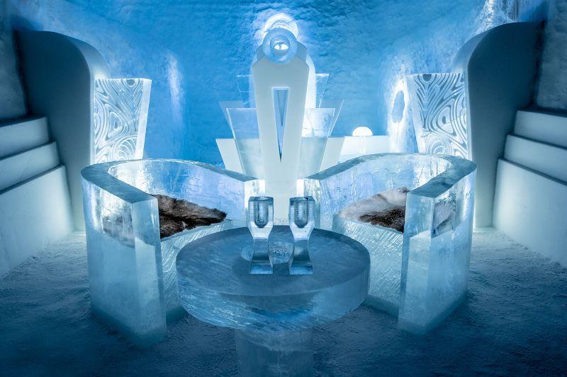 ice hotel ξενοδοχείο διαμονη