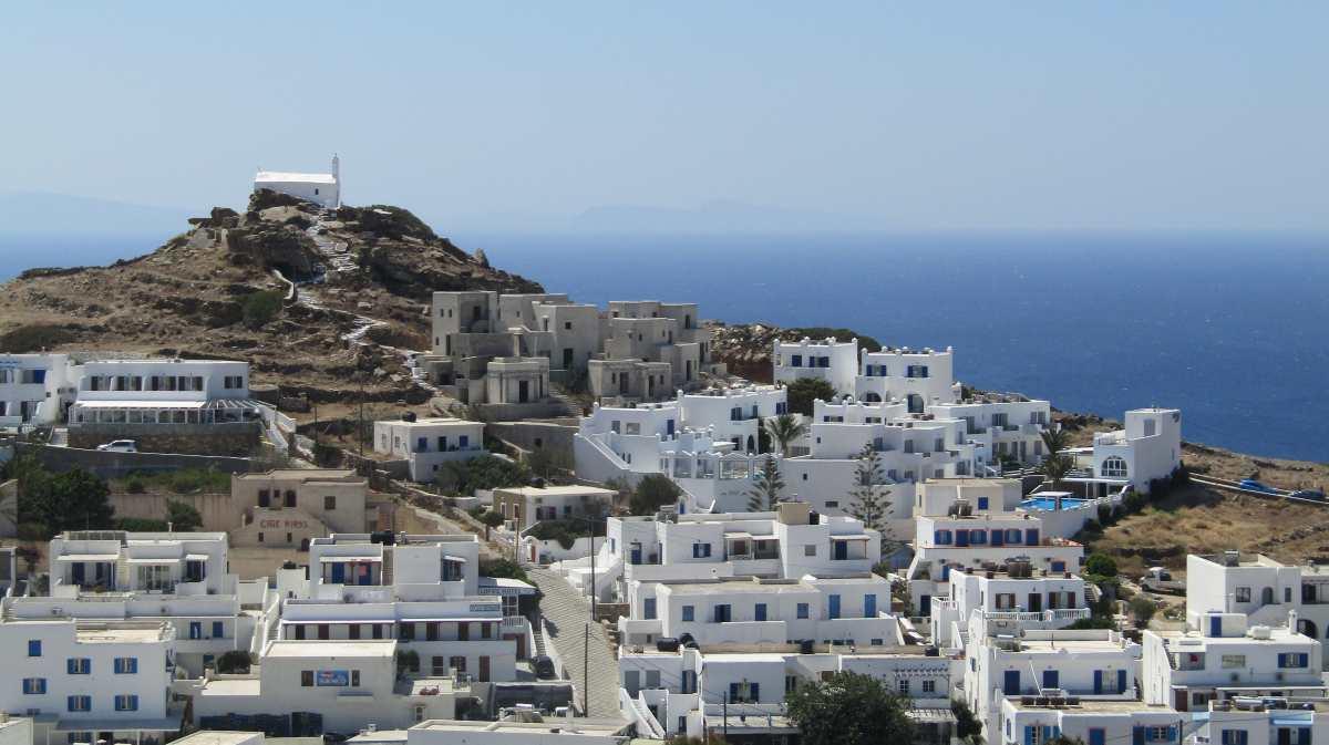 Ίος χώρα, Ελλάδα