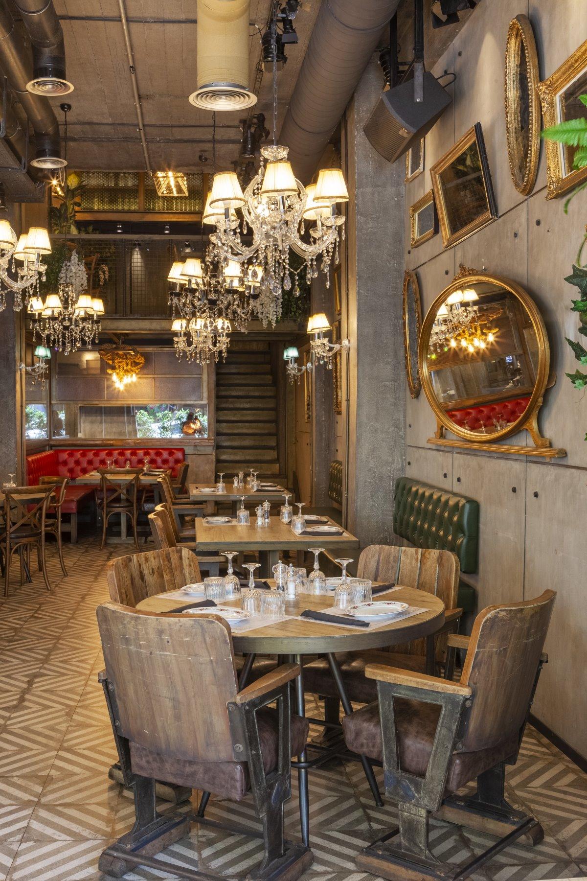 Το interior design του ιταλικού εστιατορίου Italida στον Πειραιά