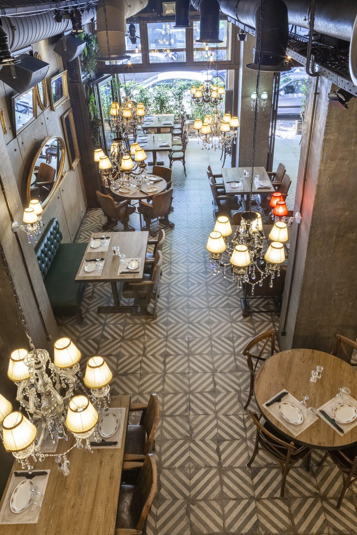 Ο χώρος του Italida restaurant πανοραμικά,  Πειραιάς