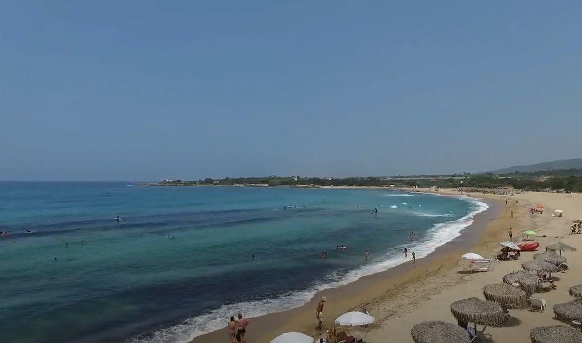 Παραλία Λαγκουβάρδος, Μεσσηνία