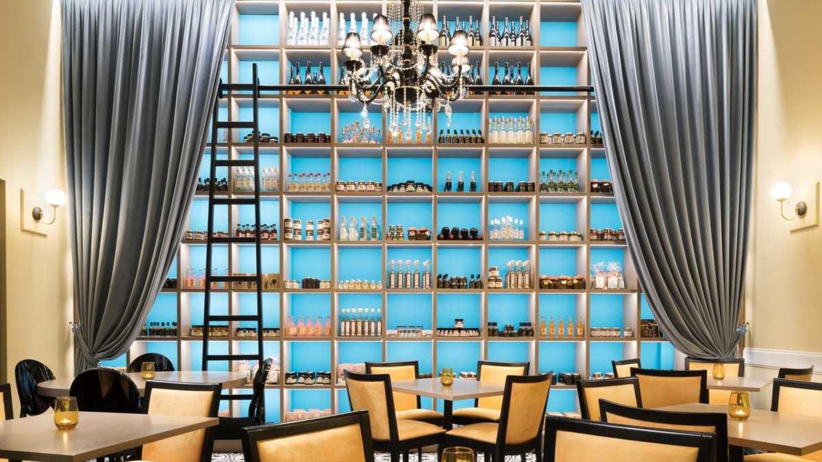 Legacy Gastro Suites, εστιατόριο