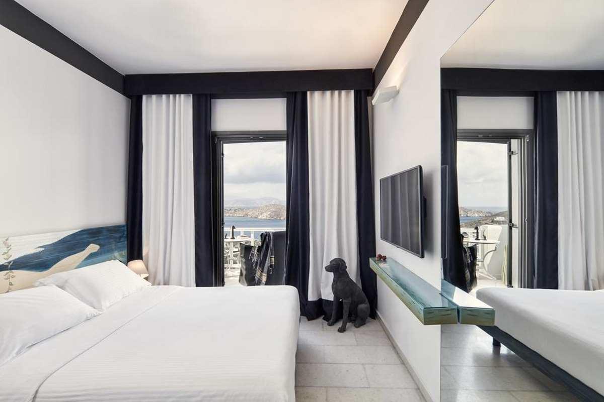 Liostasi Hotel δωμάτιο