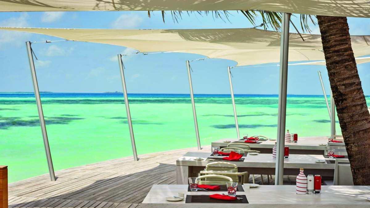 Lux Resort εστιατόριο, Μαλδίβες