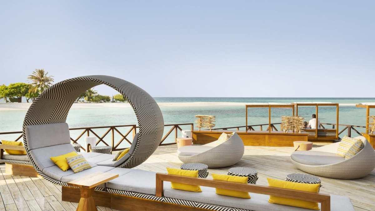 Lux Resort μπαλκόνι, Μαλδίβες