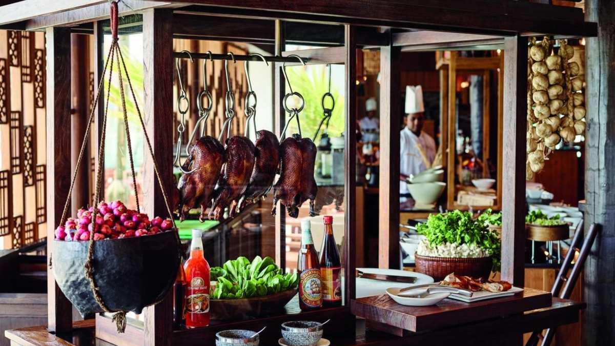 Lux Resort φαγητό, Μαλδίβες