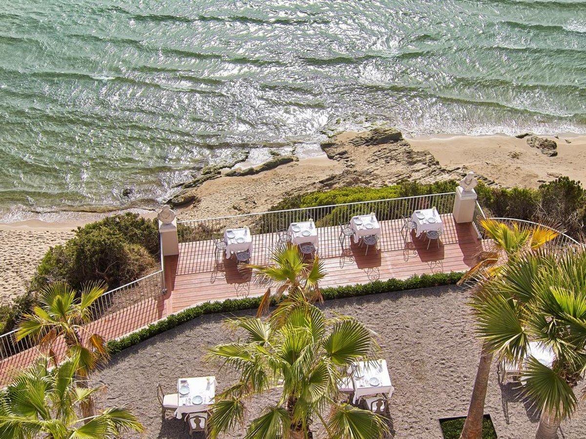 Mandola Rosa παραλία από ψηλά