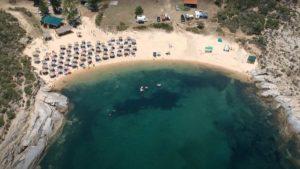 Παραλία Αγριδιά: Ο κρυφός παράδεισος της Χαλκιδικής (βίντεο)