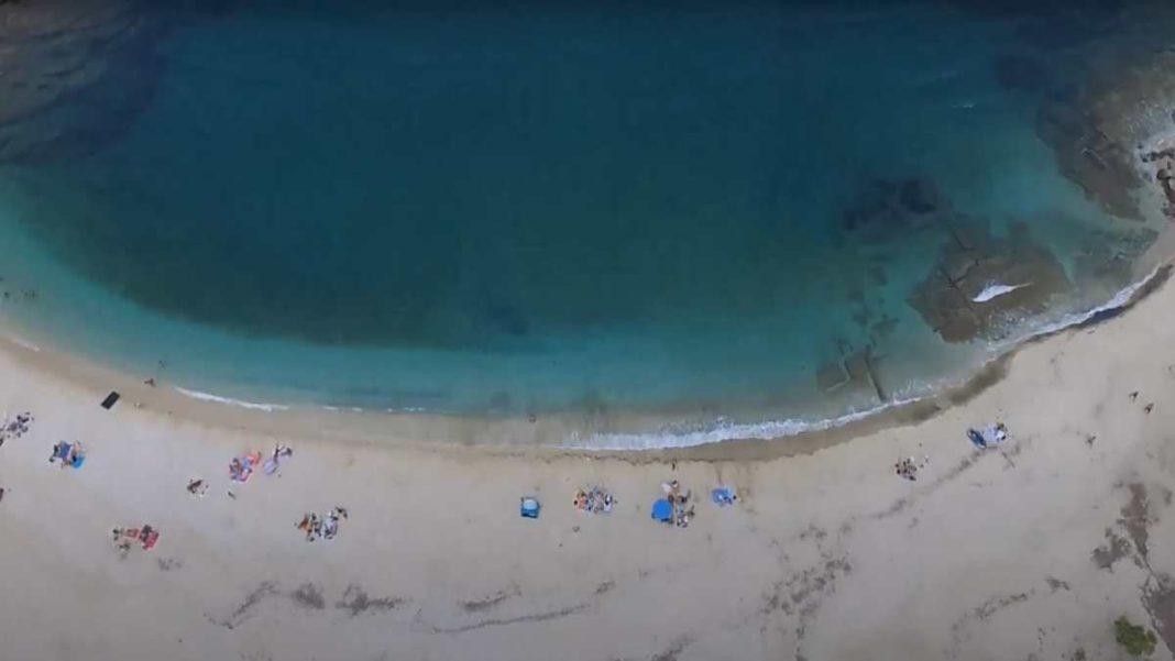 Παραλία Χερόμυλος, Εύβοια