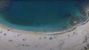 Παραλία Χερόμυλος Ευβοίας: Βουτιά στο γαλάζιο του Αιγαίου (βίντεο)