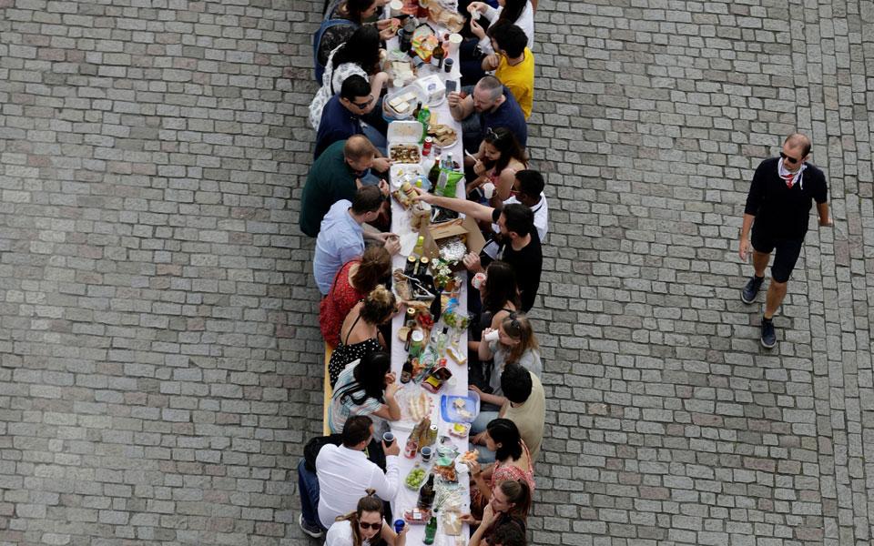 Πράγα τραπέζι εορτασμού