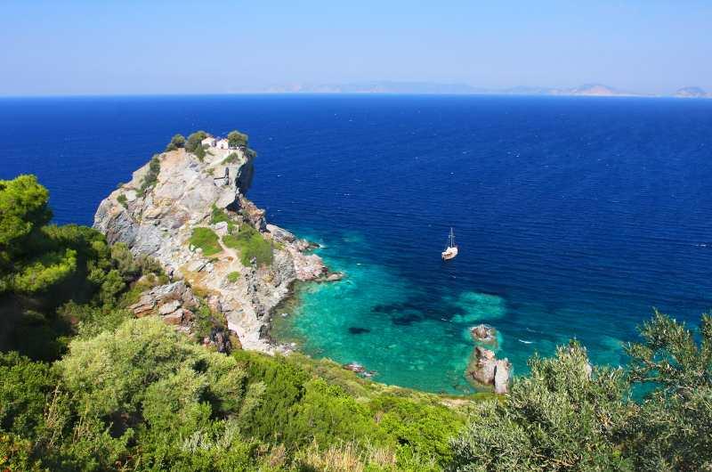 Παραλία Άγιος Ιωάννης, Σκόπελος
