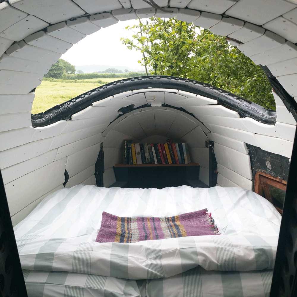 Sky Cabin εσωτερικό