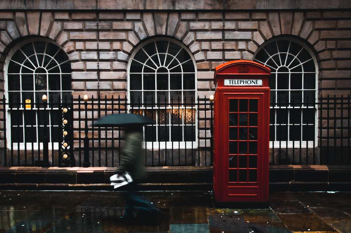 τηλεφωνικός θάλαμος, Λονδίνο
