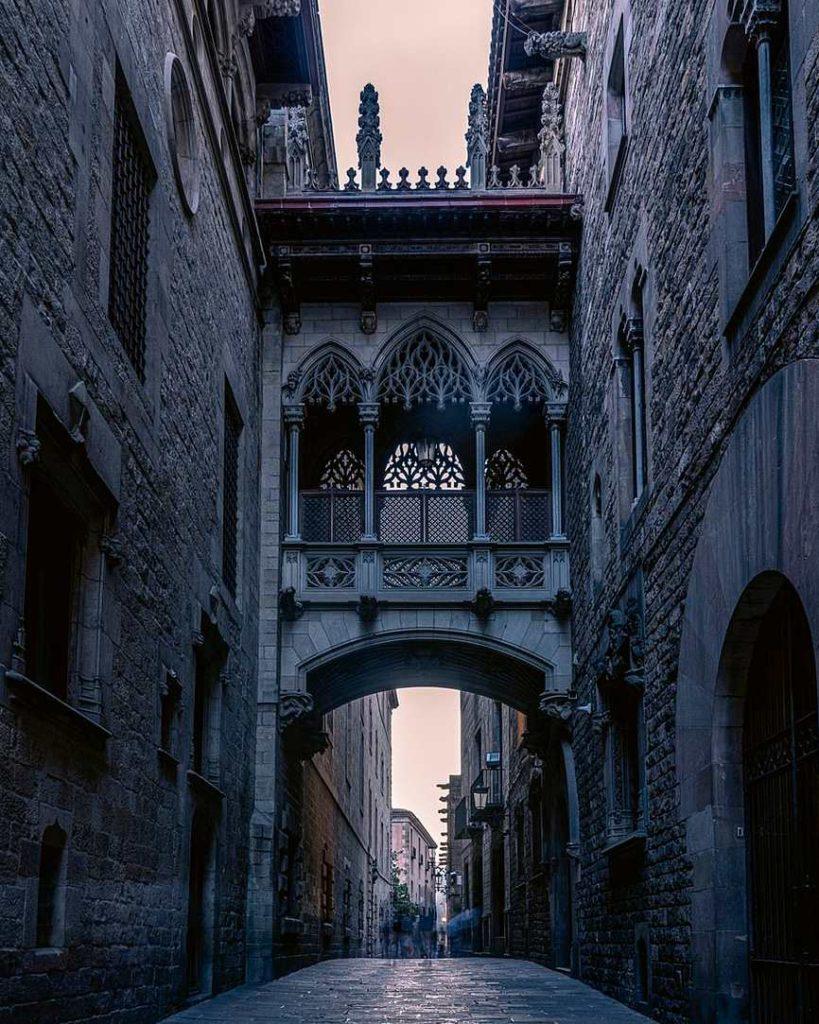 El Pont del Bisbe, Βαρκελώνη