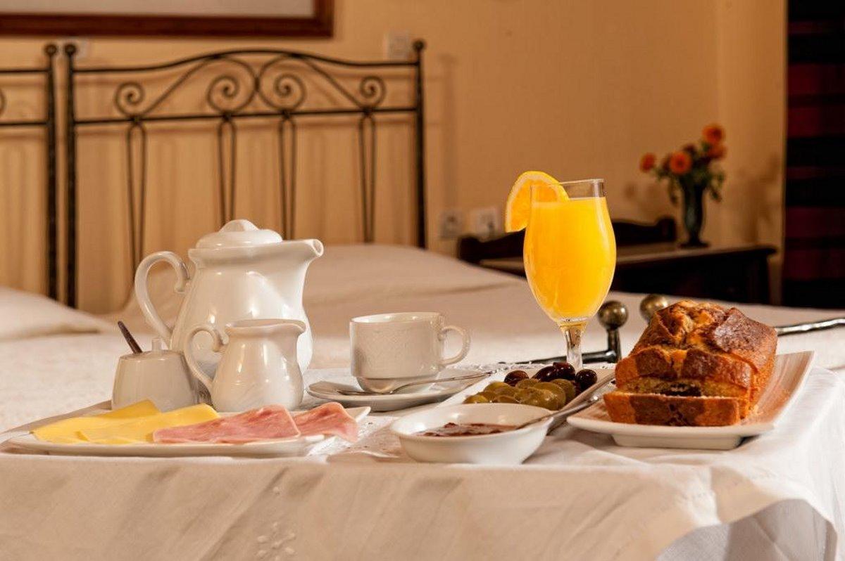 Veneto παραδοσιακό πρωινό στο κρεβάτι