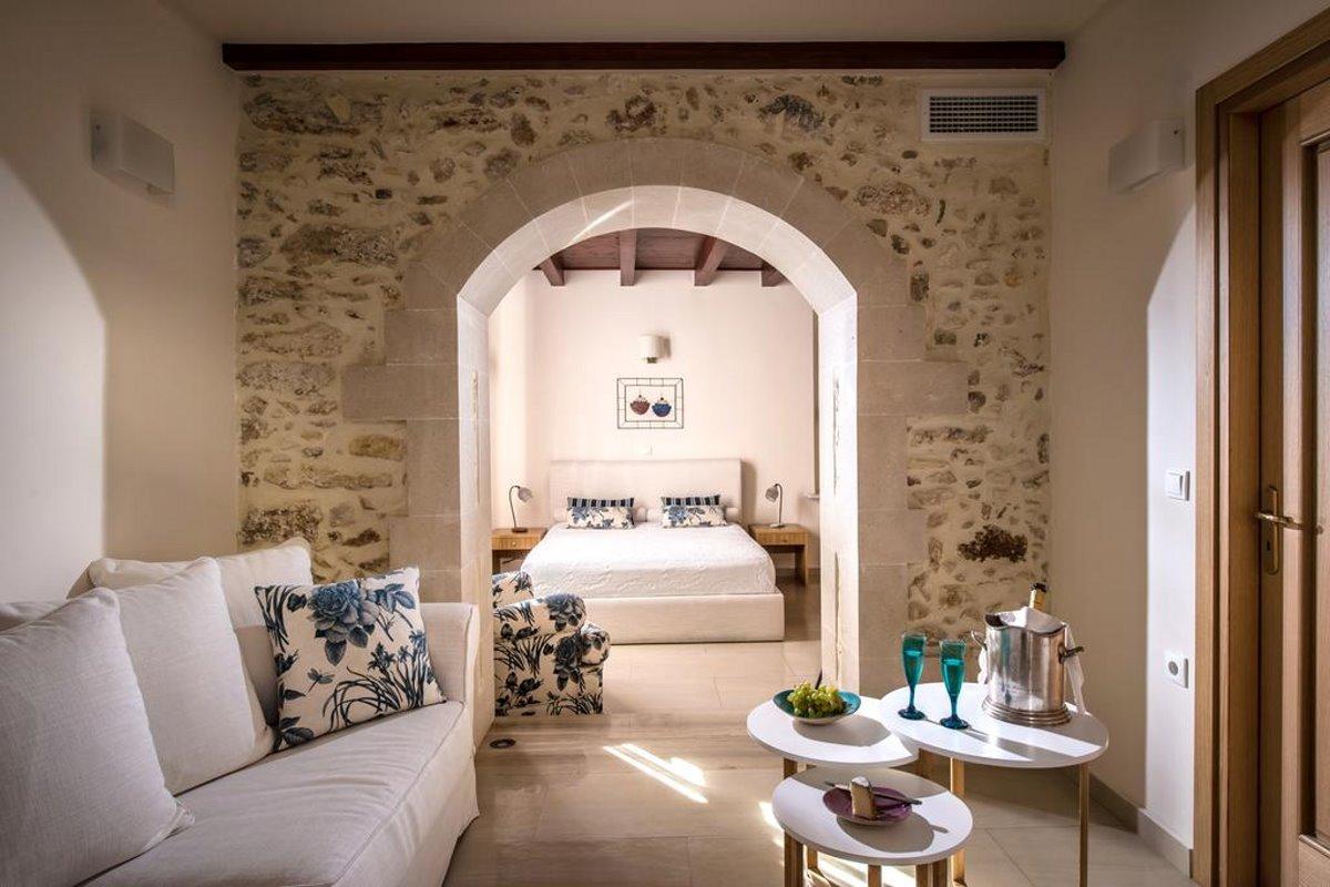 Veneto λευκή διακόσμηση στο δωμάτιο
