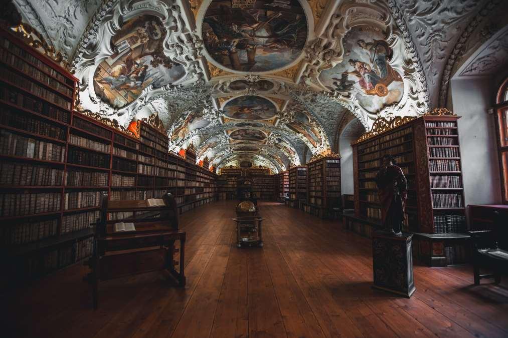Η βιβλιοθήκη Strahov, Πράγα