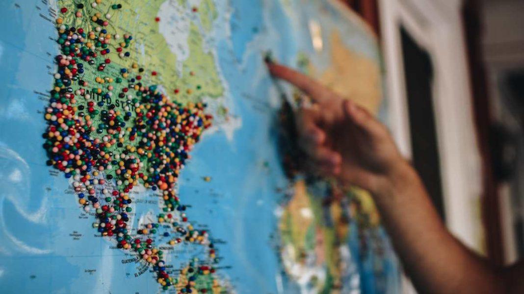 Χάρτης, προορισμοί