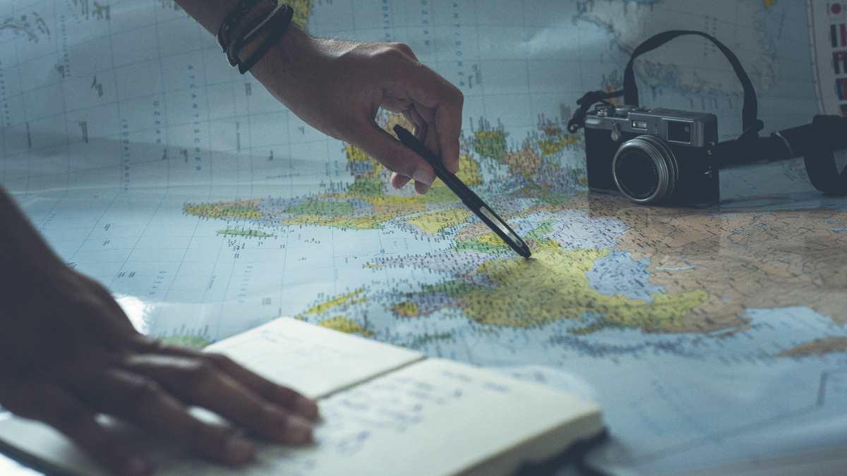 Χάρτης, Προγραμματισμός ταξιδιού