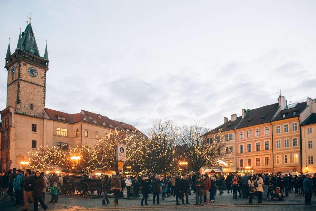Χριστουγεννιάτικες αγορές, Πράγα