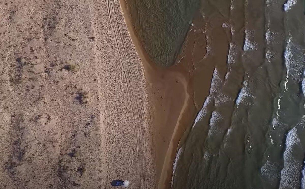 Παραλία Χρυσή Ακτή, Μεσσηνία