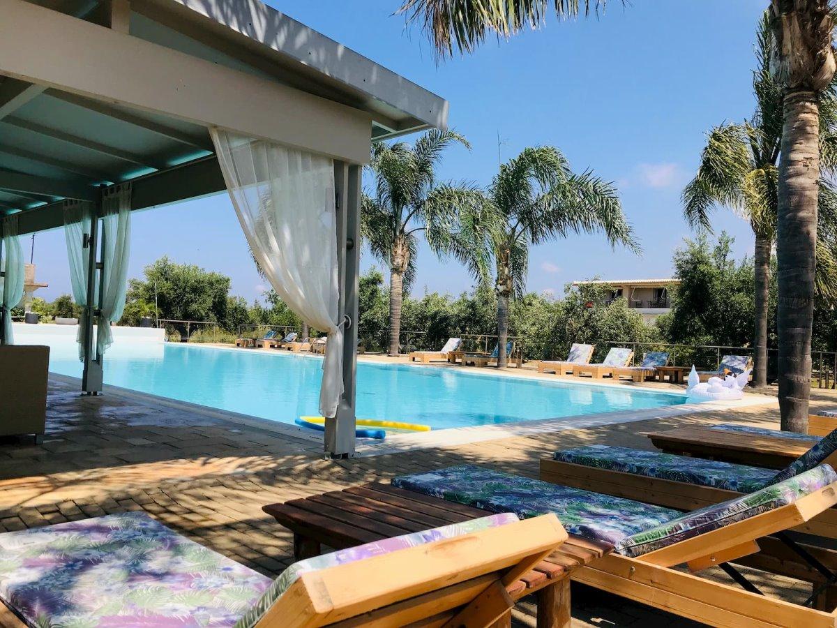 πισίνα Zoe Seaside Resort