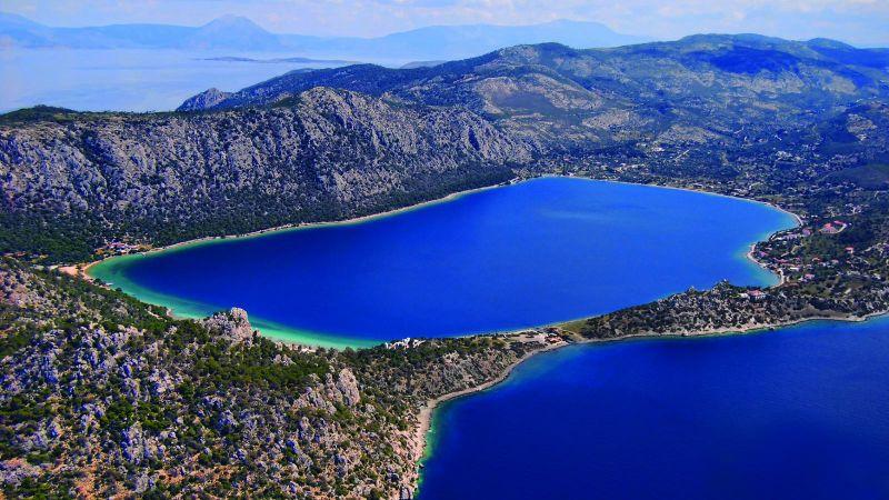 Λίμνη Ηραίου, Κορινθία