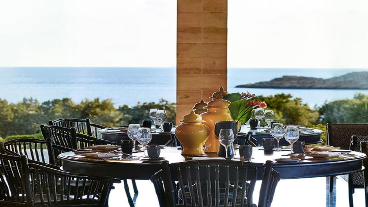 Cape Sounio, Grecotel Exclusive Resort εστιατοριο