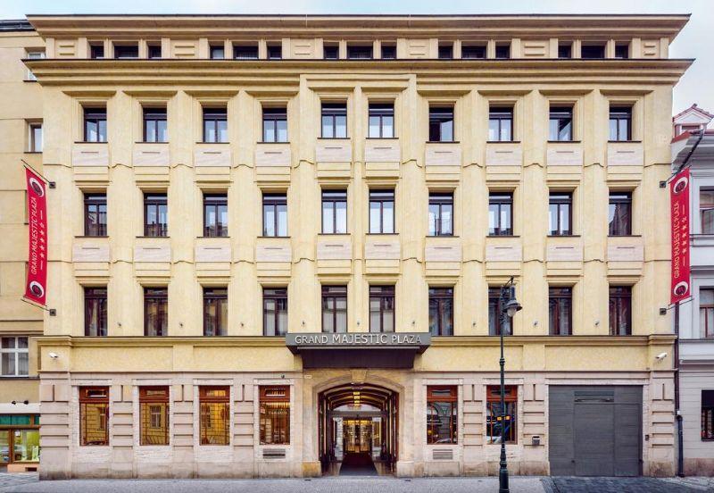 Grand Majestic Hotel Prague είσοδος