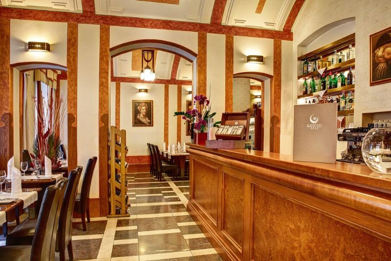 Grand Majestic Hotel Prague μπαρ