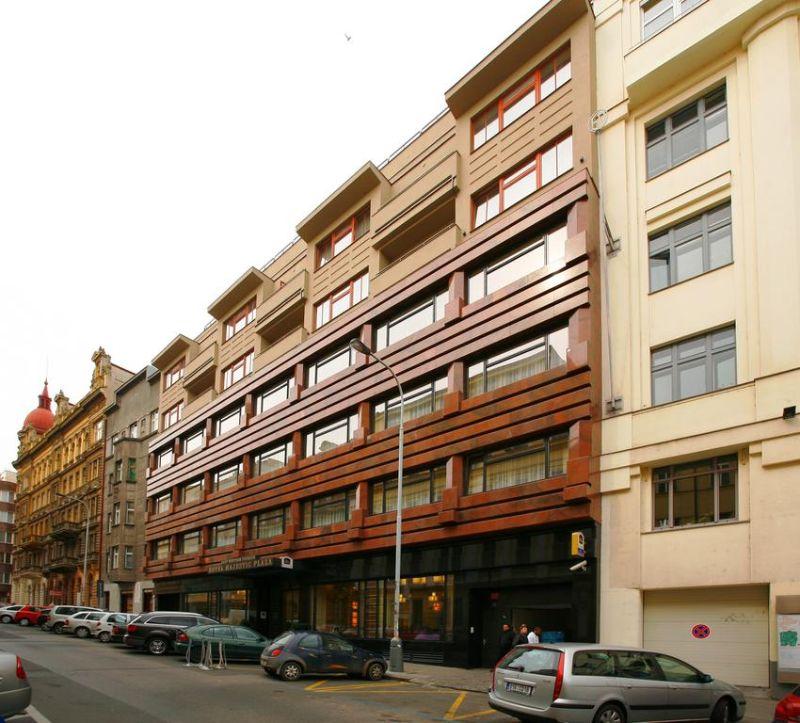 Majestic Plaza Hotel Prague είσοδος