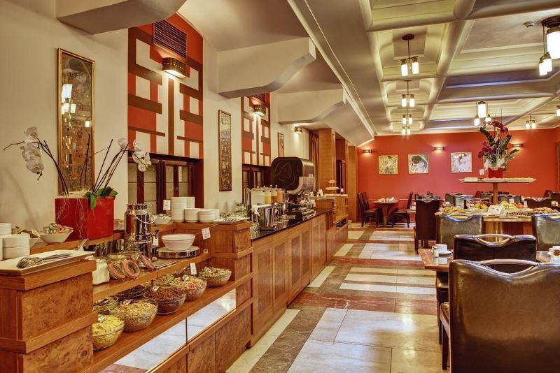 Majestic Plaza Hotel Prague εστιατόριο